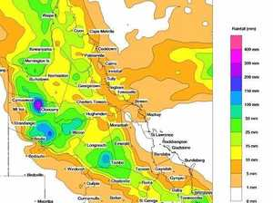 Central West to receive falls of up to 100mm next week