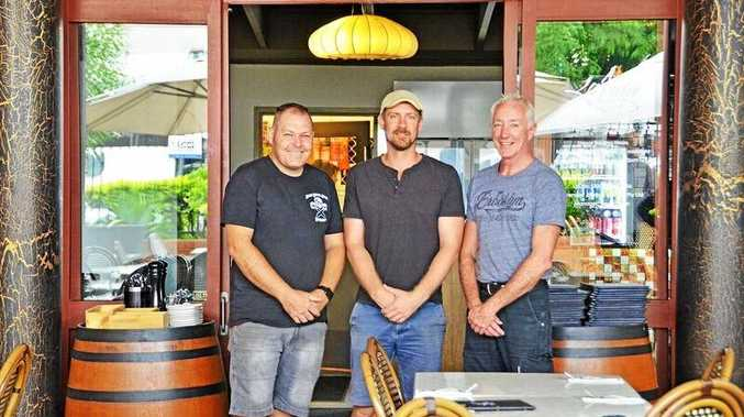 Hosts Steve Krige from La Baracca, Brad Rickard from The Loft and Kevin Porter from LaVida Bar & Restaurant will be welcoming diners to their venues as part of the Eat the Street progressive 'mystery' dinner for Eat The Street.