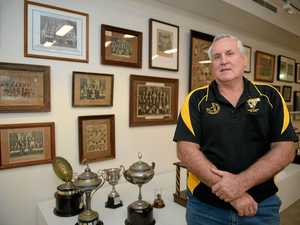Rocky gallery celebrates 100 years of region's footy fever