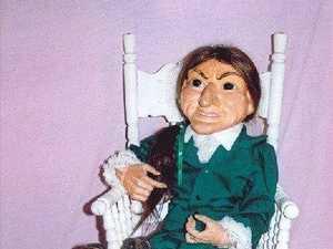 Meet one of Australia's most haunted dolls in Warwick