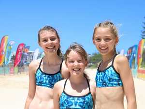 Nippers from far and wide ready to race at Alex Heads