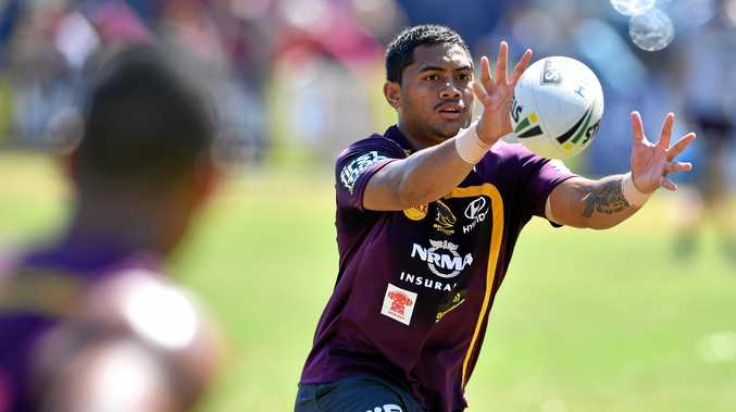 BIG YEAR: Anthony Milford is set to play a crucial role for the Brisbane Broncos this year.