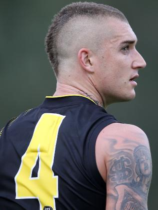 Superstar Dustin Martin gave Richmond and its fans plenty of sleepless nights. Picture: Michael Klein