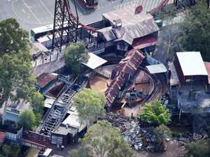 Dreamworld ripping down deadly ride that killed four