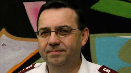 Salvation Army Major Paul Moulds. Picture: Supplied.