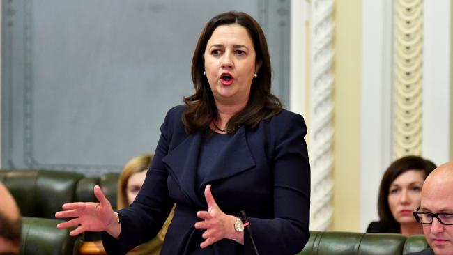 Annastacia Palaszczuk's government commissioned an independent inquiry into the situation that led to the moving of waste interstate. (Pic: Darren England)
