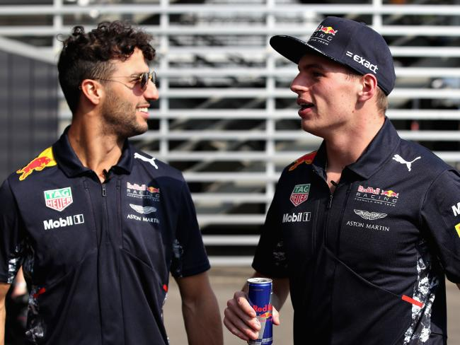 Will Ricciardo follow Max Verstappen's lead and extend his time at Red Bull?