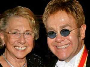 Elton's mum in shock snub from grave