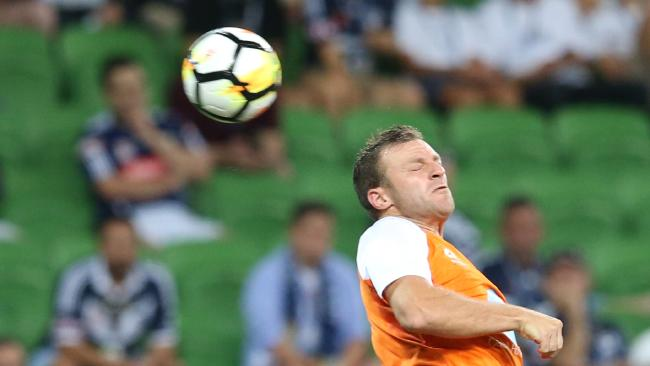 Avraam Papadopoulos in action for the Roar.