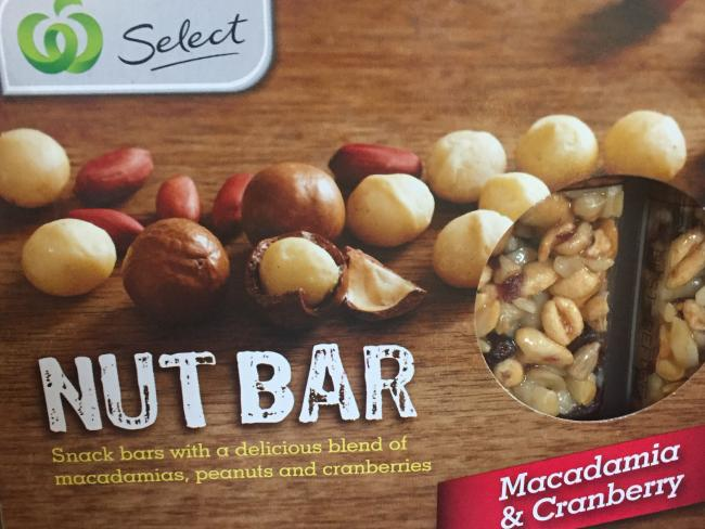 Woolies nut bars have the highest sugar content, and are also the highest priced.