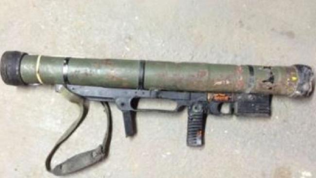 This rocket launcher was surrendered in Queensland. Picture: National Firearms Amnesty