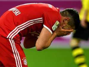 Bayern rocked: Lewandowski smashed by teammate