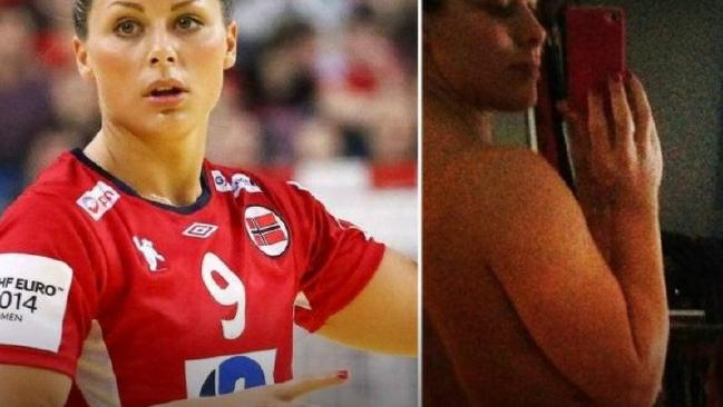 Nude photographs of Nora Mork were circulated by members of Norway's men's squad.