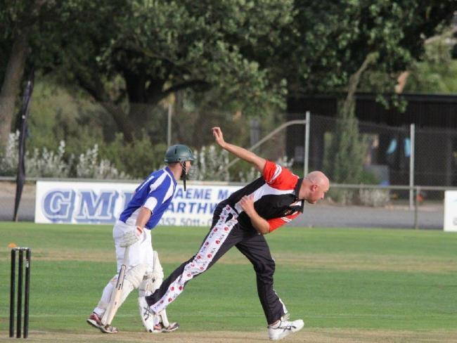 Doug Bollinger in full bowling stride. Pic: Australian Cricketers' Association