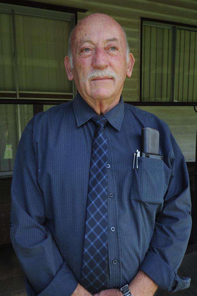 Fraser Coast Regional Council disaster planning co-ordinator Mal Churchill. Photo: Megan Pope / Fraser Coast Chronicle