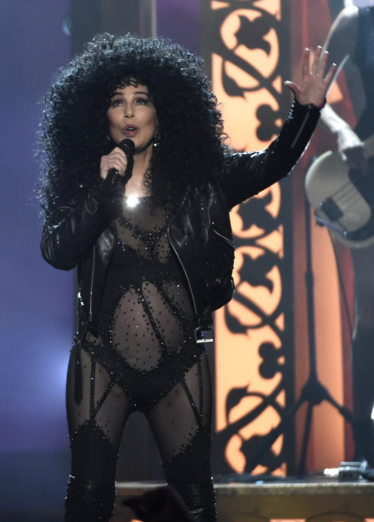 Cher performs at the Billboard Music Awards at the T-Mobile Arena on Sunday, May 21, 2017, in Las Vegas.