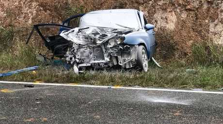 Serious Four Car Accident On Sunshine Coast