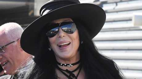 Singer Cher arrives at Sydney International Airport ahead of her performance at the 2018 Sydney Gay and Lesbian Mardi Gras in Sydney, Wednesday February 28, 2018.