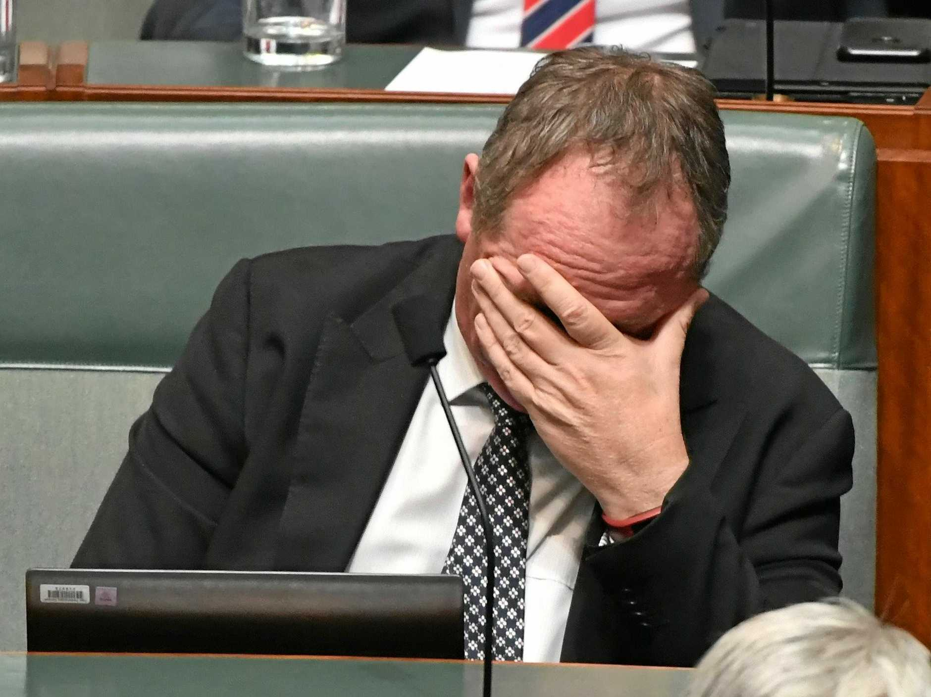 GONE: Barnaby Joyce is no longer deputy prime minister and Tony Riddle says that's a shame.