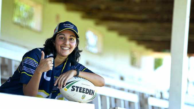 Gympie Times sports editor Bec Singh is ready for the NRL to kick off .