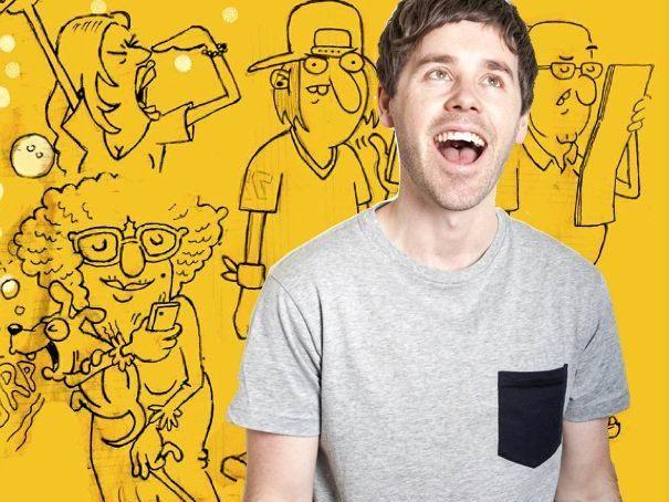 COMING SOON: Australian comedian Josh Earl.
