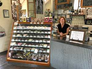 CHOCOLATE DELIGHTS: Kaye Edwards' The Chocolate Cottage and Café at Highfields turns 21 this April.