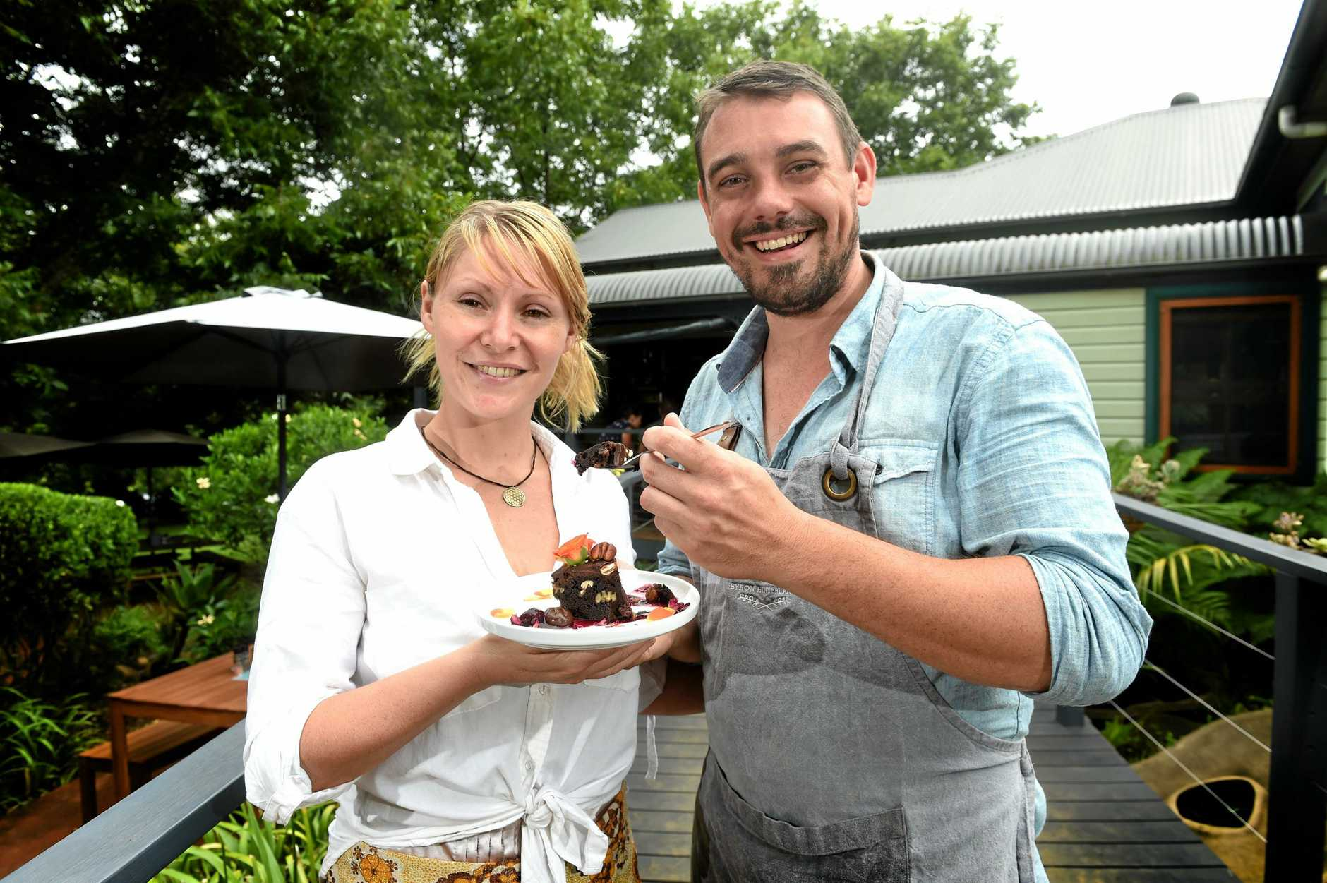 Eltham Pantry owners Matthew James and Ashlee Jones are looking forward to the festive atmosphere and community spirit found at Eat the Street in Lismore.