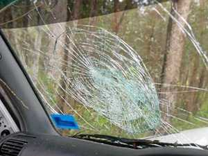 127 days in jail for a cracked windscreen?