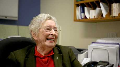 Dr Betty Marks has just retired after more than 60 years of service to the community.
