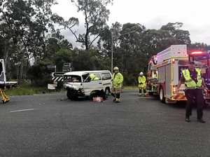 Two taken to hospital after Burrum Heads crash