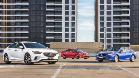 The Holden Commodore has only had to compete with the Ford Falcon for the better part of 40 years. Now it's in Toyota Camry territory. Picture: Thomas Wielecki.