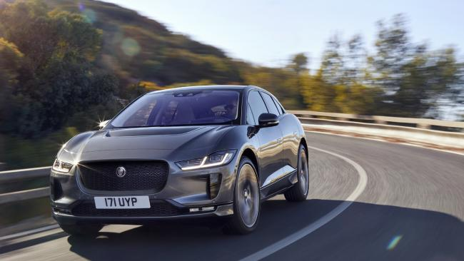 Look out Tesla ... the Jaguar i-Pace electric car will go on sale in Australia this year. Picture: Supplied.