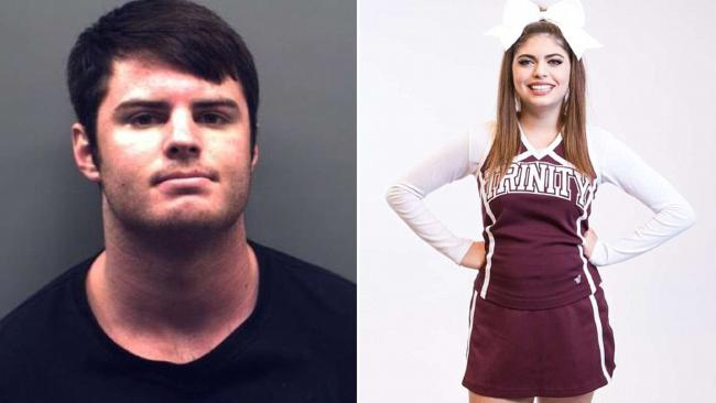 Mark Howerton has been arrested for the rape and murder of his cheerleader girlfriend Cayley Mandadi. Picture: Supplied