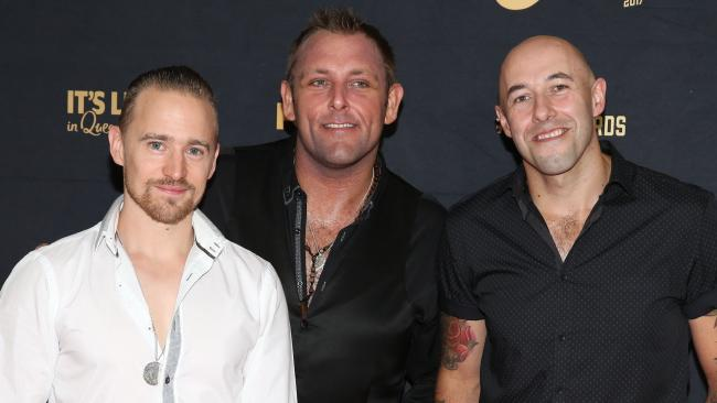 The Wolfe Brothers perform live at the 2018 CMC Music Awards at The Star Gold Coast on March 15. Picture: Mike Batterham