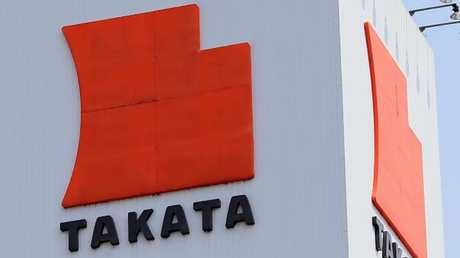 Takata initially blamed the problem on plant issues. Picture: AFP