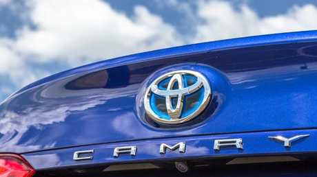 The Toyota Camry Hybrid. Picture: Thomas Wielecki.