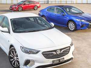 TESTED: Holden Commodore vs Toyota Carmy and Subaru Liberty