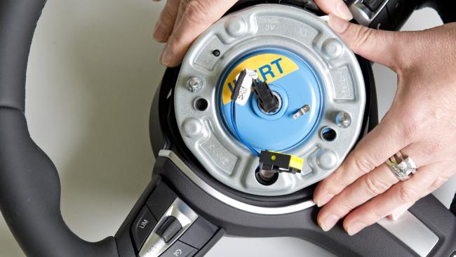 The airbag inflator was susceptible to water intrusion. Picture: Jens Meyer, AP
