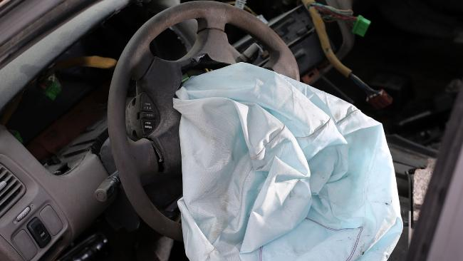 The first complaints about rupturing airbags were made 17 years ago. Picture: Joe Raedle, Getty Images