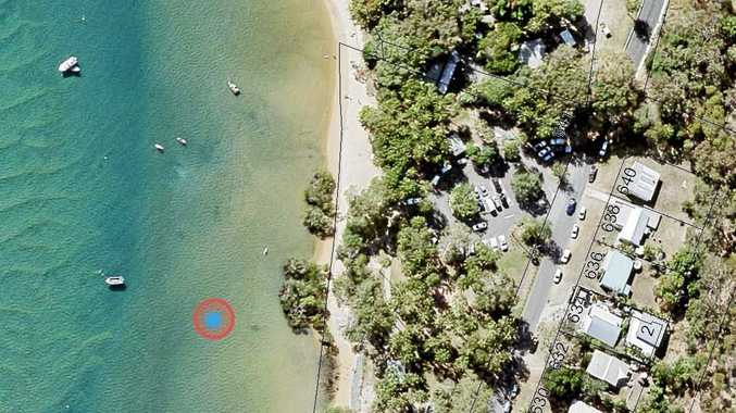SINK OR SWIM: Gladstone Regional Council released this map showing the location of a potential sink hole at Seventeen Seventy.