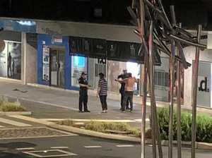Wild Friday night brawl in Mackay CBD