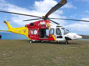 Girl badly injured after fall from headland