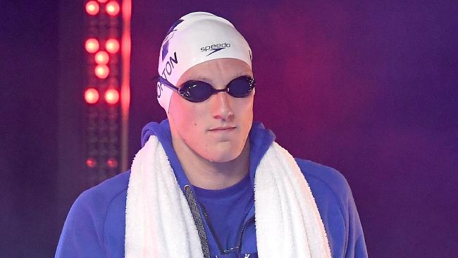 Australian swimming star Mack Horton.