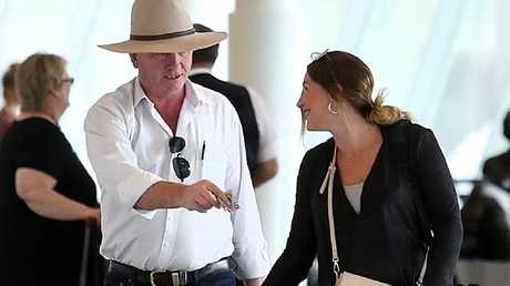 Barnaby Joyce declares 'anything that's personal in nature is nobody else's business'