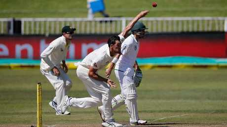Mitchell Starc destroyed South Africa's tailend in their first innings