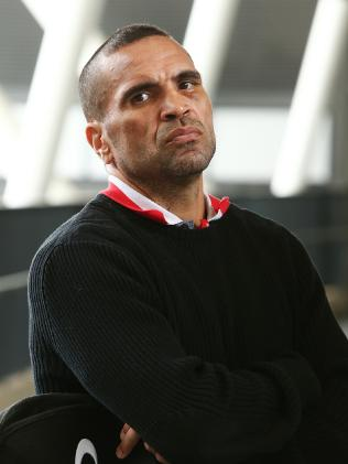 Boxer Anthony Mundine is again under fire over his comments on gay people. Picture: Getty Images