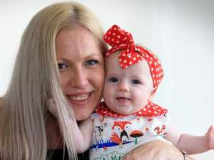 Shocked Queensland mum didn't know she was pregnant