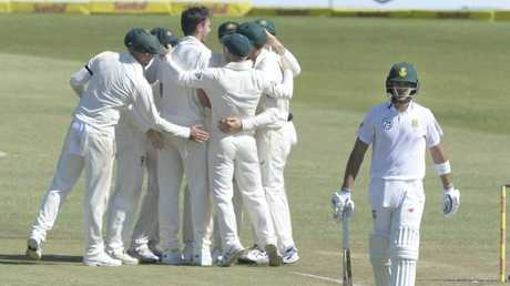 Australia's bowling quartet decimated the home side