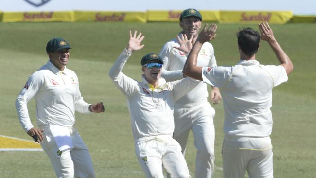 Australia look set to continue their success in South Africa