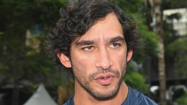 North Queensland Cowboys player Johnathan Thurston at the NRL season launch. Picture: AAP